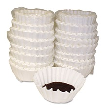 Melitta® Coffee Filters, Paper, Basket Style, 12 to 15 Cups, 800/Carton