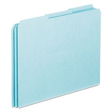 Pendaflex® Top Tab File Guides, Blank, 1/3 Tab, 25 Point Pressboard, Letter, 100/Box
