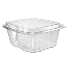 Dart® ClearPac Container, 6.4 x 2.9 x 7.1, 32 oz, Clear, 200/Carton