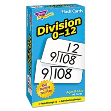 TREND® Skill Drill Flash Cards, 3 x 6, Division