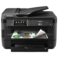 Epson® WorkForce 7620 Wireless All-in-One Inkjet Printer, Copy/Fax/Print/Scan