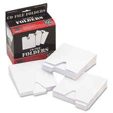 Vaultz® CD File Folders, 100/Pack