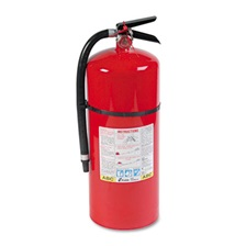 Kidde ProLine Pro 20 MP Fire Extinguisher, 6-A:80-B:C, 195psi, 21.6h x 7 dia, 18lb