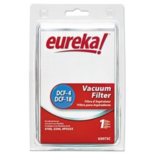 Eureka® DCF-18 Washable Dust Cup Filter for 4700/5550/HP5550 Series Vacuums, 2/CS