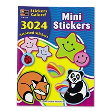 Teacher Created Resources Sticker Book, Mini Size, 3,024/Pack
