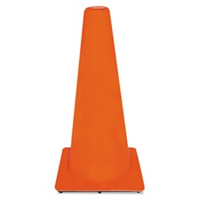 3M™ Non-Reflective Safety Cone, 13 x 13 x 28, Orange