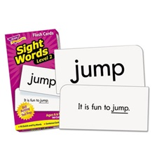 TREND® Skill Drill Flash Cards, 3 x 6, Sight Words Set 2