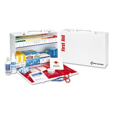 First Aid Only™ ANSI Compliant Class B+Type I & II Industrial First Aid Kit/75 People,437 Pieces