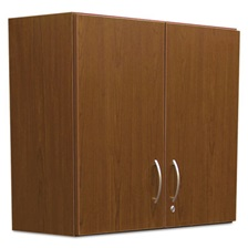 Alera Plus™ Hospitality Wall Cabinet, Two Doors, 36w x 14 3/16d x 29 3/4h, Cherry