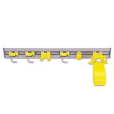 "Rubbermaid® Commercial Closet Organizer/Tool Holder, 34"" Width, Gray"
