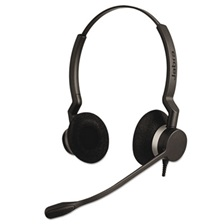 Jabra QD Binaural Over-the-Head Corded Headset