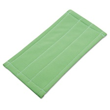 Unger® Microfiber Cleaning Pad, Green, 6 x 8