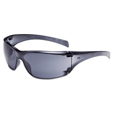 3M™ Virtua AP Protective Eyewear, Clear Frame and Gray Lens, 20/Carton