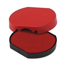 Identity Group Trodat T46140 Dater Replacement Pad, 1 5/8, Red
