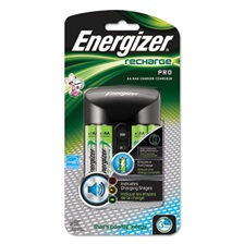 Energizer® Pro Charger with 4 AA Rechargeable Batteries