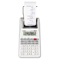 Canon® P1-DHV-G 12-Digit Palm Printing Calculator, Purple/Red Print, 2 Lines/Sec
