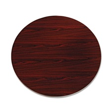 "HON® 10500 Series Round Table Top, 42"" Diameter, Mahogany"