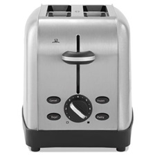 Oster® Extra Wide Slot Toaster, 2-Slice, 8 x 12 7/8 x 8 1/2, Stainless Steel