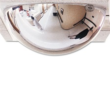 "See All® T-Bar Dome Security Mirror, 24"" dia."