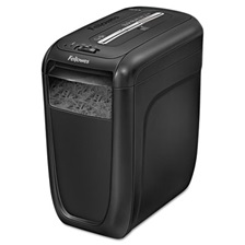 Fellowes® Powershred 60Cs Light-Duty Cross-Cut Shredder, 10 Sheet Capacity