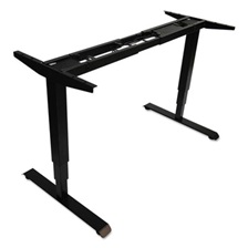 "Alera® AdaptivErgo 3-Stage Electric Table Base w/Memory Controls, 25"" to 50 3/4"", Black"