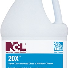 20X Glass and Window Cleaner Concentrate, 1 gal