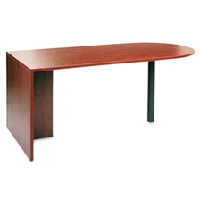Alera® Alera Valencia Series D Top Desk, 71w x 35 1/2d x 29 5/8h, Medium Cherry