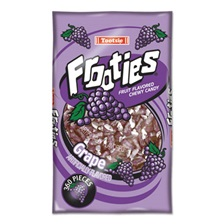 Tootsie Roll® Frooties, Grape, 38.8oz Bag, 360 Pieces/Bag