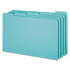 Pendaflex® Top Tab File Guides, Blank, 1/5 Tab, 25 Point Pressboard, Legal, 50/Box