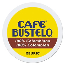 Café Bustelo 100 percent Colombian K-Cups, 24/Box