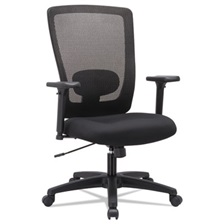 Alera® Alera Envy Series Mesh High-Back Swivel/Tilt Chair, Black