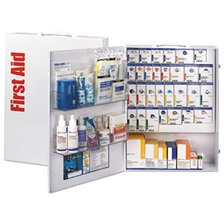 First Aid Only™ ANSI 2015 Compliant Industrial First Aid Kit for 150 People, 669 Pieces
