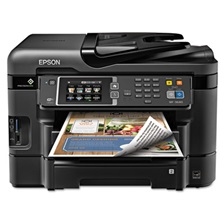 Epson® WorkForce 3640 Wireless All-in-One Inkjet Printer, Copy/Fax/Print/Scan