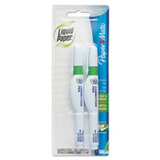 Paper Mate® Liquid Paper® Correction Pen, 7 ml, White, 2/Pack
