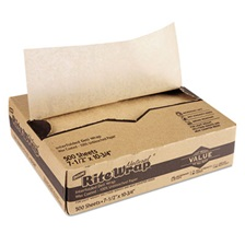 Dixie® Interfolded Lightweight Dry Waxed Sheets, 10 3/4 x 7 1/2, 500/Box, 12 Bx/Carton