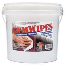 2XL Gym Wipes Professional, 6 x 8, Unscented, 700/Bucket, 2 Buckets/Carton