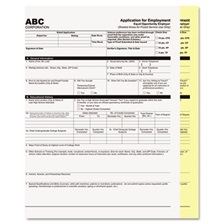 PM Company® Digital Carbonless Paper, 8-1/2 x 11, Two-Part Collated, White/Canary, 2500 Sets