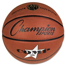 "Champion Sports Composite Basketball, Official Intermediate, 29"", Brown"