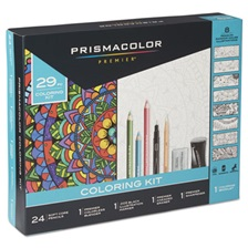 Prismacolor® Complete Toolkit with Colored Pencils and 8 Page Coloring Book