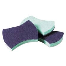 Scotch-Brite™ PROFESSIONAL Power Sponge #3000, 2 4/5 x 4 1/2, Blue/Teal