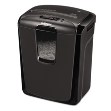 Fellowes® Powershred 49C Light-Duty Cross-Cut Shredder, 8 Sheet Capacity