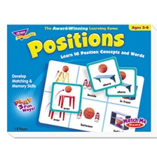 TREND® Positions Match Me Puzzle Game, Ages 5-8
