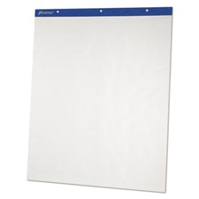 Ampad® Flip Charts, Unruled, 27 x 34, White, 50 Sheets, 2/Pack
