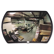 "See All® 160 degree Convex Security Mirror, 24w x 15"" h"
