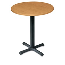 "HON® Self-Edge Round Hospitality Table Top, 30"" Diameter, Harvest"