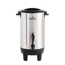 Coffee Pro 30-Cup Percolating Urn, Stainless Steel