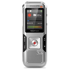 Philips® Voice Tracer 4010 Digital Recorder, 8 GB, Silver