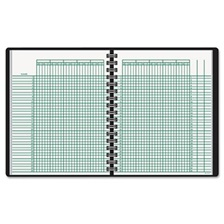 AT-A-GLANCE® Undated Class Record Book, 10 7/8 x 8 1/4, Black