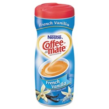 Coffee-mate® French Vanilla Creamer Powder, 15oz Plastic Bottle