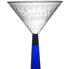 Flairware 6 oz. MARTINI GLASS - 2306-BL